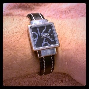 Charming Charlie Ladies Black Badlet Watch